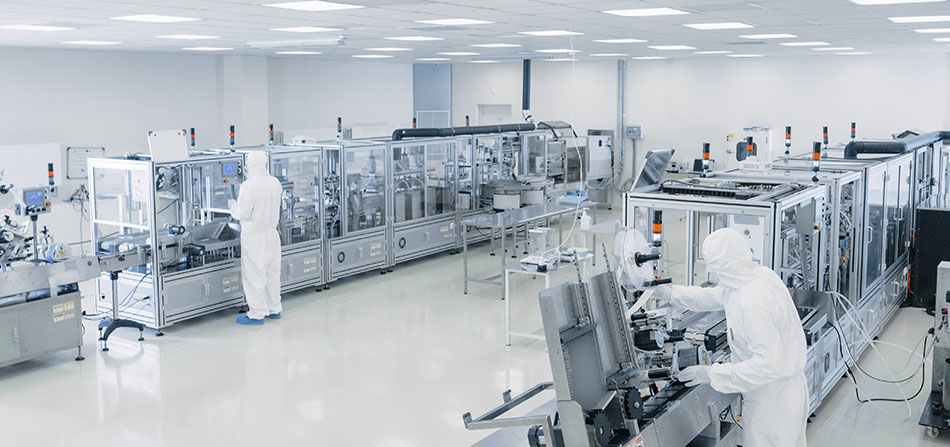 Pavimenti in resina per l'industria farmaceutica