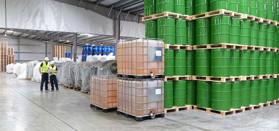 Pavimenti in resina per industria chimica