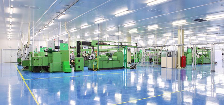 Pavimenti in resina per l'industria manifatturiera